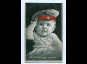 Y9371/ Kind in Uniform 1. Weltkrieg AK 1916