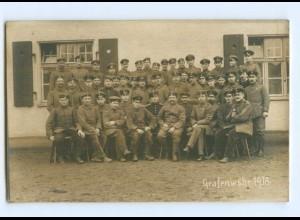 Y9367/ Übungsplatz Grafenwöhr Soldaten 1. Weltkrieg Foto AK 1918
