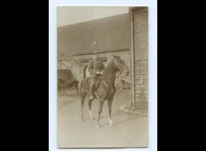 Y9358/ Soldat zu Pferde I. Bayer. Res.-Armeekorps 1. Weltkrieg AK