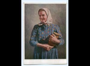 Y9439/ Banater Schwaben Bauernmädchen aus Mramorak Rümanien H. Retzlaff VDA AK
