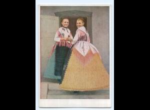 Y9435/ Banater Schwaben Bauernmädchen aus Gutenbrunn Rumänien VDA AK ca.1938