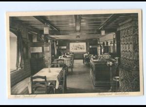 U2770/ Bad Oppelsdorf Restaurant Carolabad Schlesien AK ca.1930