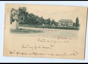 U2958-01./ Dresden Palais im Großen Garten 1898 AK