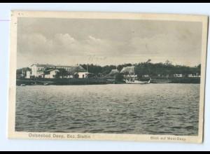 U2387/ Ostseebad Deep Bez. Stettin AK 1934