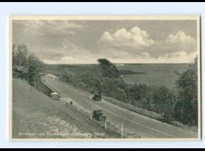 U2351/ Fjordvejen ved Munkemölle Flensburg Fjord AK Nordschleswig ca.1935