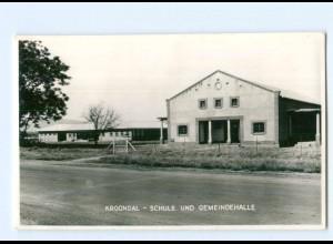 U2320/ Kroondal Schule und Geimeindehalle Südafrika Foto AK ca.1955