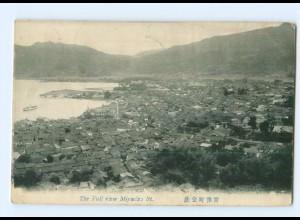 U2293/ Miyadzi St. Japan AK 1912