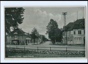 U3206-2720/ Rotenburg Bahnhofstraße AK ca.1940
