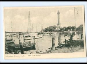 U3179/ Swinemünde Hafen Pommern AK ca.1920