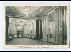 Y9562/ Berlin Nordwest Hotel und Cafe Tiergarten AK 1917