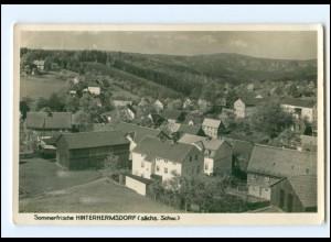 U3056-018./ Hinterhermsdorf Panorama Foto AK