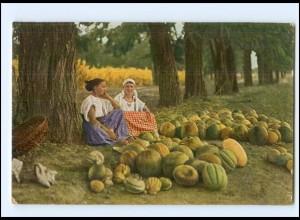 Y9566/ Balkan Melonenverkäuferinnen AK ca.1914
