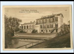 XX00873/ Hamburg Moorburg Cafe Bauer Ak 1928
