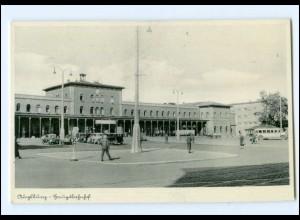 XX00367/ Augsburg Bahnhof AK ca.1940
