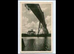 XX00370/ Rendsburg Hochbrücke Schwebefähre Foto K 1940