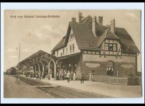 XX00861-032./ Bahnhof Dobrilugk-Kirchhain AK ca.1915