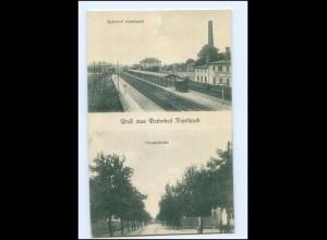 #019-045./ Kieritzsch Bahnhof AK 1919