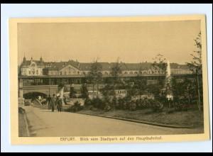 XX00651-990./ Erfurt Hauptbahnhof AK ca.1912