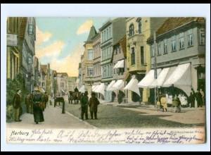 XX00460/ Hamburg Harburg Mühlenstraße AK 1915
