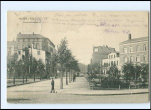 #011/ Hamburg Harburg Heimfelderstraße AK 1905