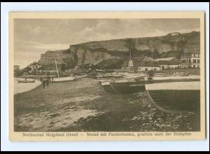 XX00497/ Helgoland Fischerboote AK ca.1925