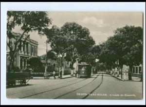 XX001264/ Para-Belem Avenida de Nazareth Straßenbahn Brasilien Foto AK 1929
