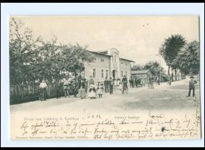 XX00676-030./ Limberg Kolkwitz bei Cottbus Petrick`s Gasthaus AK 1906