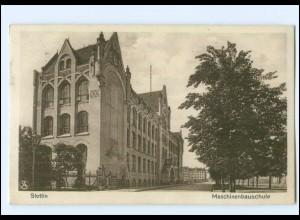 XX00386/ Stettin Maschinenbauschule Pommern Ak 1931