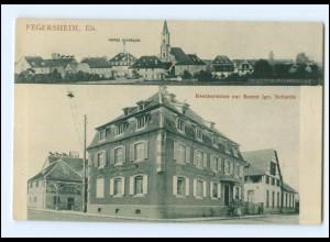 XX00413/ Fegersheim Elsaß Restaurant zur Sonne AK ca.1912