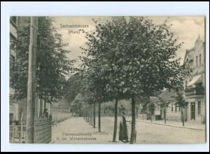 XX00681-165./ Sachsenhausen (Mark) Oranienburg Wilhelmstraße AK 1912
