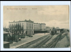 XX00564-193./ Wittenberge Bahnhof AK 1907