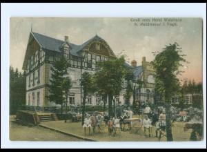 XX00536-085./ Hotel Waldhaus bei Mehltheuer bei Rosenbach i. V. AK 1929