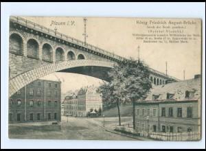 XX00539-085./ Plauen König Friedrich August-Brücke AK 1906