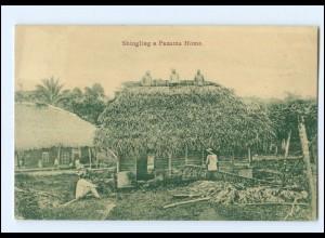 XX00550/ Panama Shingling a Panama Home AK 1913