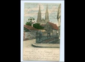 XX00182-4770/ Soest Wiese-Kirche AK 1905