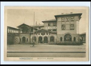 XX003211/ Bahnhof Oetzsch-Markkleeberg Krs. Leipzig AK ca.1912
