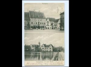 XX00228-078/ Neustadt a.d. Orla Marktplatz AK 1912