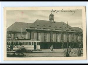 XX00224/ Bromberg Hauptbahnhof Straßenbahn AK 1941