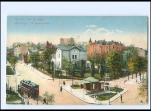 XX00247/ Lemberg Lwow Ukraine St. Sophie-Platz Straßenbahn AK ca.1912