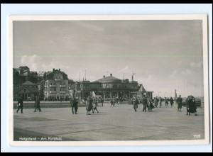 XX00239/ Helgoland Am Kurplatz Foto AK ca.1935