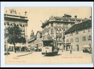 XX01016-998./ Gotha Erfurterstr. Straßenbahn AK ca.1905