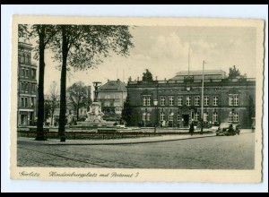 XX00945-028./ Görlitz Hindenburgplatz mit Postamt AK 1941