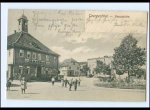 XX00940-998./ Georgenthal Hauptplatz AK 1904