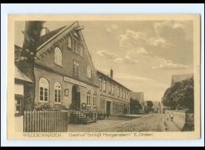 XX00922/ Weddewarden Bremerhaven Gasthof Schloß Morgenstern AK ca.1912