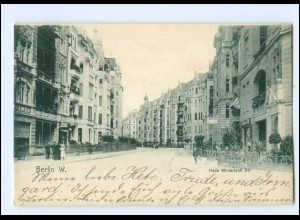 XX00761/ Berlin Schöneberg Neue Winterdeldt Straße AK 1908