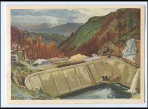 XX002188/ Bulgarien Staudamm im Rilagebirge WK2 AK Südfront E. Vollbehr