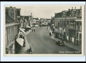 XX001633/ Assen Gedempte Singel Foto Ak 1951 Niederlande