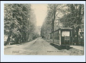 XX001560-3280/ Bad Pyrmont Bergbahn .n.d. Bomberg AK ca.1910