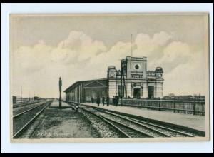XX001659/ Kalisch Bahnhof Schlesien AK ca.1938