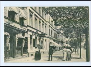 XX01096/ Tilsit Hohestraße AK 1906 Ostpreußen